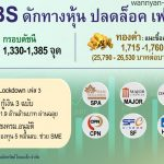 GBS ปลด Lockdown เฟส 3 ชู SPA-MAJOR-CRP-CPN-SF-HMPRO
